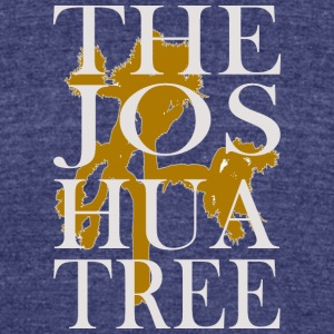 The Joshua Tree - Unisex Tri-Blend T-Shirt by American Apparel