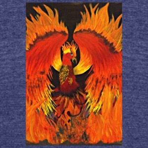 Rising of the Phoenix - Unisex Tri-Blend T-Shirt by American Apparel