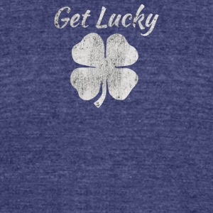 Get Lucky - Unisex Tri-Blend T-Shirt by American Apparel