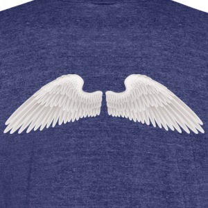 angel wings angelic wings vector - Unisex Tri-Blend T-Shirt by American Apparel