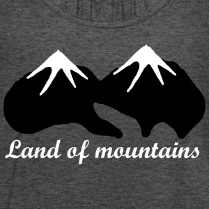 Land of mountains - Women's Flowy Tank Top by Bella