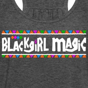 Black Girl Magic - Women's Flowy Tank Top by Bella