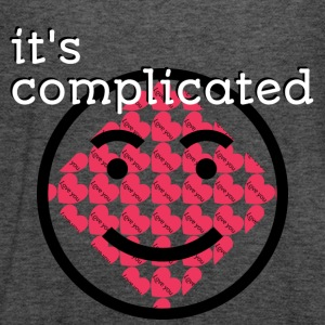 It's Complicated - Women's Flowy Tank Top by Bella