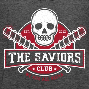 The Saviors Club T Shirrt - Women's Flowy Tank Top by Bella