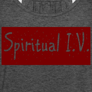 Spiritual I.V. - Women's Flowy Tank Top by Bella