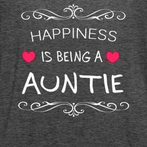 Happiness Is Being a AUNTIE - Women's Flowy Tank Top by Bella