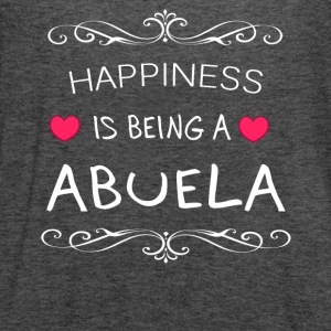 Happiness Is Being a ABUELA - Women's Flowy Tank Top by Bella