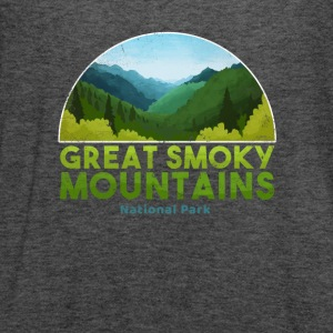 Great Smoky Mountain National Park T shirt Hiking - Women's Flowy Tank Top by Bella