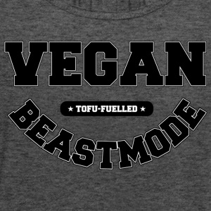 VEGANBEASTMODE - Women's Flowy Tank Top by Bella