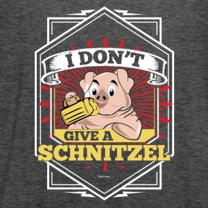 I Don't Give A Schnitzel German Beer Oktoberfest - Women's Flowy Tank Top by Bella