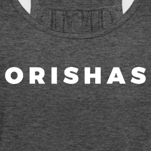 Orishas (Block White Letters) - Women's Flowy Tank Top by Bella