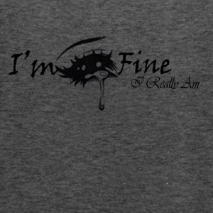 I'm Fine - Women's Flowy Tank Top by Bella