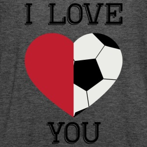 i love you soccer - Women's Flowy Tank Top by Bella