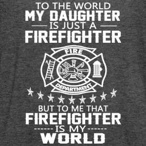 MY DAUGHTER IS FIREFIGHTER T Shirt - Women's Flowy Tank Top by Bella