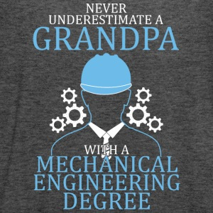 Mechanical Engineering Grandpa T Shirt - Women's Flowy Tank Top by Bella