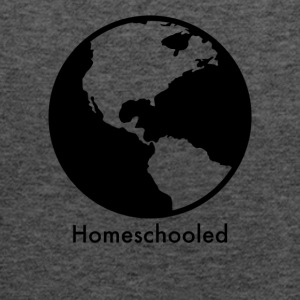 HomeSchooled - Black and White World - Women's Flowy Tank Top by Bella