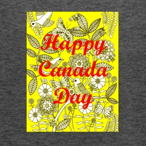 Happy Canada Day 2 - Women's Flowy Tank Top by Bella
