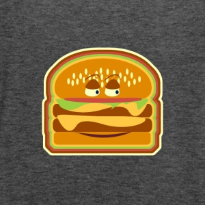 Happy Cheeseburger Pal - Women's Flowy Tank Top by Bella