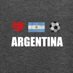 Argentina Football. Argentine Soccer T-shirt - Women's Flowy Tank Top by Bella