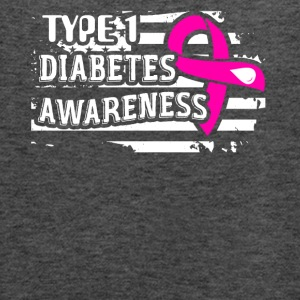 Diabetes Awareness Shirt - Women's Flowy Tank Top by Bella