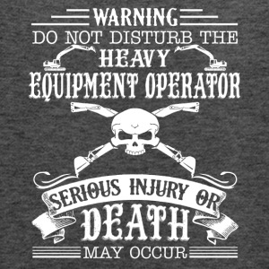 Heavy Equipment Operator Shirt - Women's Flowy Tank Top by Bella
