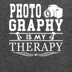 Photography Is My Therapy Tee Shirt - Women's Flowy Tank Top by Bella