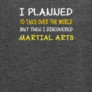 Funny Martial Arts Design-I Planned to Take Over - Women's Flowy Tank Top by Bella