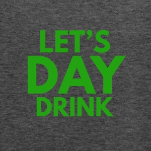 Let's Day Drink St. Patrick's Day Design - Women's Flowy Tank Top by Bella