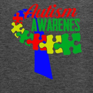 Autism Awareness Ribbon Tshirts - Women's Flowy Tank Top by Bella