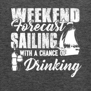 Weekend Forecast Sailing Shirt - Women's Flowy Tank Top by Bella