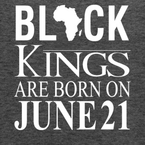 Black Kings Born on June 21 - Women's Flowy Tank Top by Bella