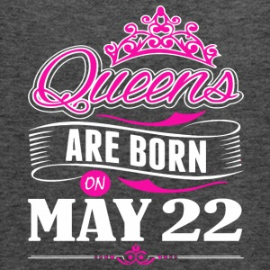 Queens are born on May 22 - Women's Flowy Tank Top by Bella