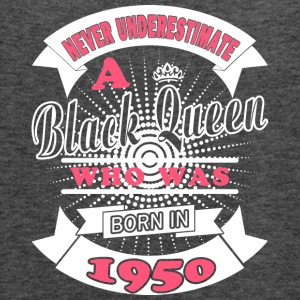 Black Queens Born in 1950 - Women's Flowy Tank Top by Bella