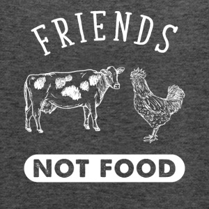Friends not food - Women's Flowy Tank Top by Bella