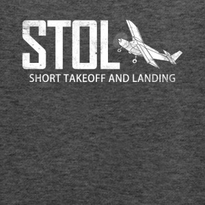 STOL Short Takeoff and Landing Aircraft Pilots - Women's Flowy Tank Top by Bella