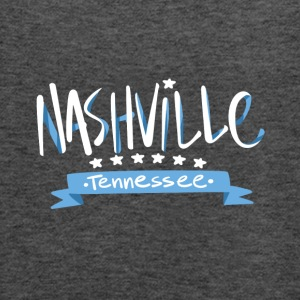 Tennessee Nashville, The Place To Be U.S T-Shirt - Women's Flowy Tank Top by Bella