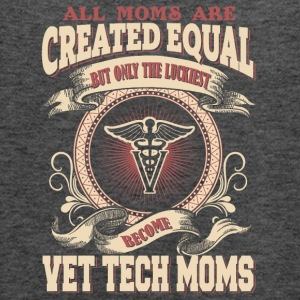 The Luckiest Become Vet Tech Moms - Women's Flowy Tank Top by Bella