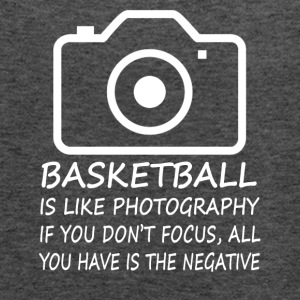 Basketball-Like Photography-cool shirt,geek hoodie - Women's Flowy Tank Top by Bella