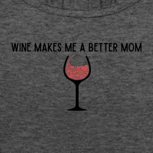 Wine Shirt for Mom's - Women's Flowy Tank Top by Bella