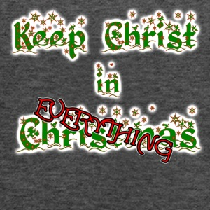 Keep Christ in EVERYTHING - Women's Flowy Tank Top by Bella