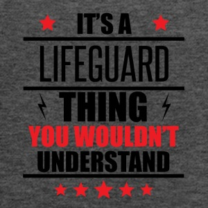 It's A Lifeguard Thing - Women's Flowy Tank Top by Bella