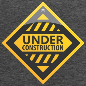 Road_sign_under_construction - Women's Flowy Tank Top by Bella