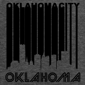 Retro Oklahoma City Skyline - Women's Flowy Tank Top by Bella