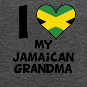 I Heart My Jamaican Grandma - Women's Flowy Tank Top by Bella