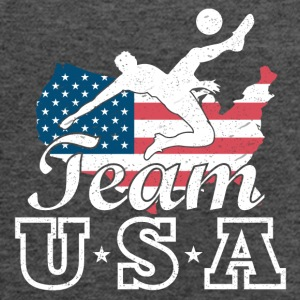 Team USA Soccer - Women's Flowy Tank Top by Bella