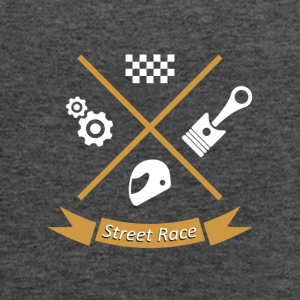 Street race - Women's Flowy Tank Top by Bella