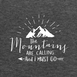 Mountains are calling - Women's Flowy Tank Top by Bella