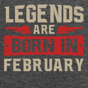 Legends Are Born February - Women's Flowy Tank Top by Bella