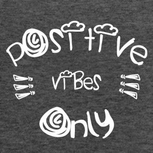 Be Positive - Women's Flowy Tank Top by Bella