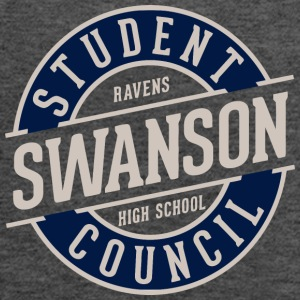 STUDENT RAVENS SWANSON HIGH SCHOOL COUNCIL - Women's Flowy Tank Top by Bella